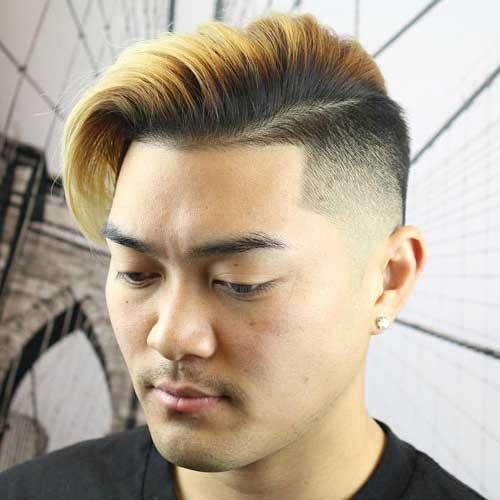cabelo curto masculino alisado de japones