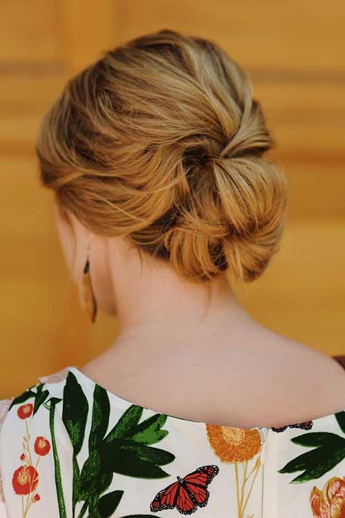 penteado romantico baixo