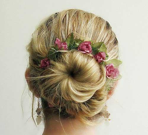 coque romantico florido