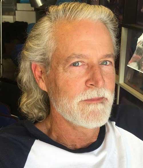 cabelo masculino cacheado para homem de idade avançada