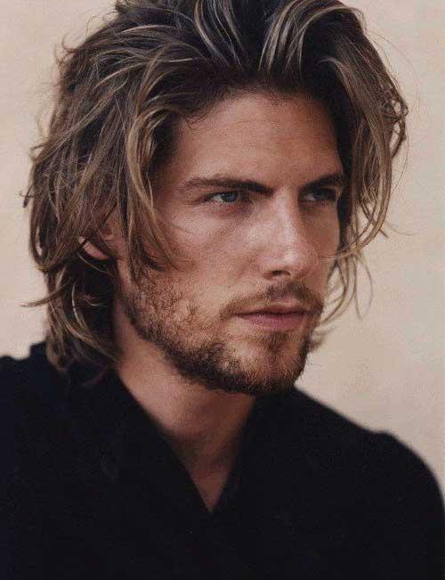corte de cabelo masculino medio desfiado sexy