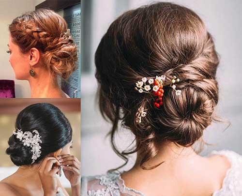 fotos e imagens de coque romantico para noivas