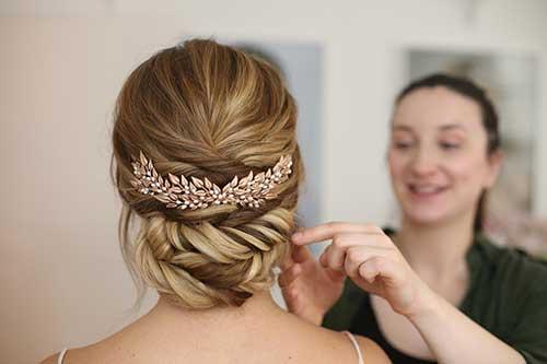 penteado inspirado na grecia antiga