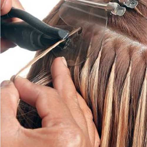 como fazer aplicaçao de mega hair de queratina