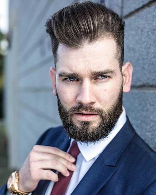 cabelo masculino social raspado do lado