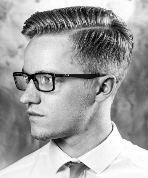 cabelo masculino social penteado pra lateral