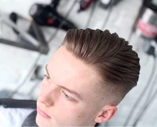 penteado misto masculino
