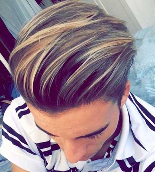 dicas e ideias para iluminar e colorir cabelo masculino