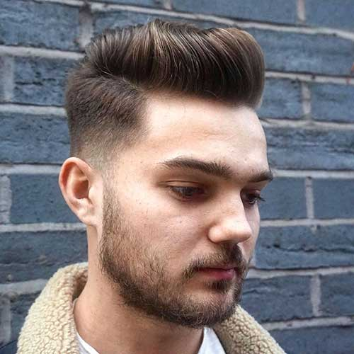 corte degrade da moda combina com barba