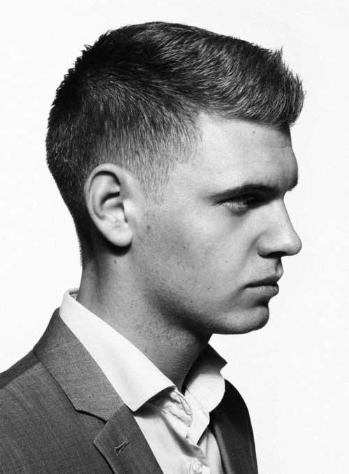 corte de cabelo masculino social bonito e classico
