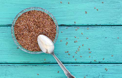 como usar linhaça na comida para crescimento capilar