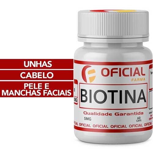 suplemento de biotina da oficial farma