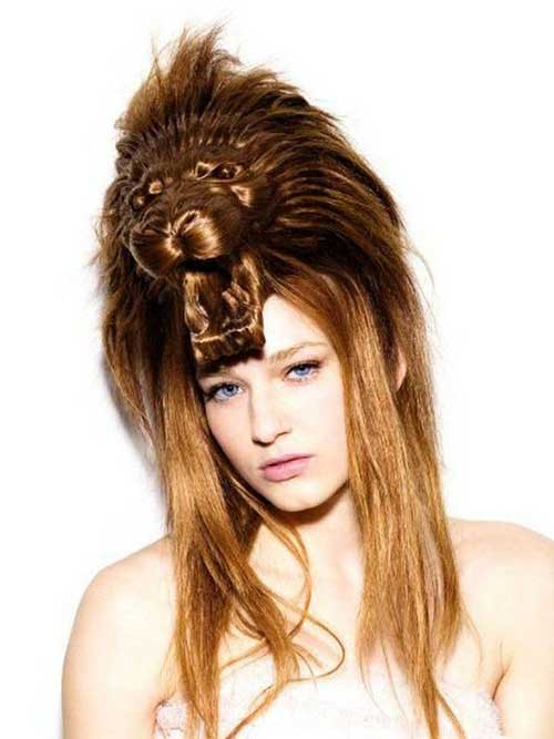 cabelo feminino para festa a fantasia