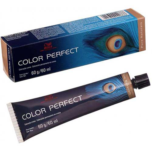 tinta de cabelo color perfect da wella