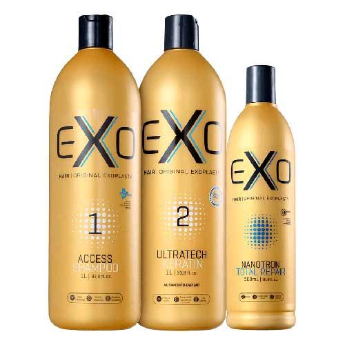 produto para cabelo profissional exo hair