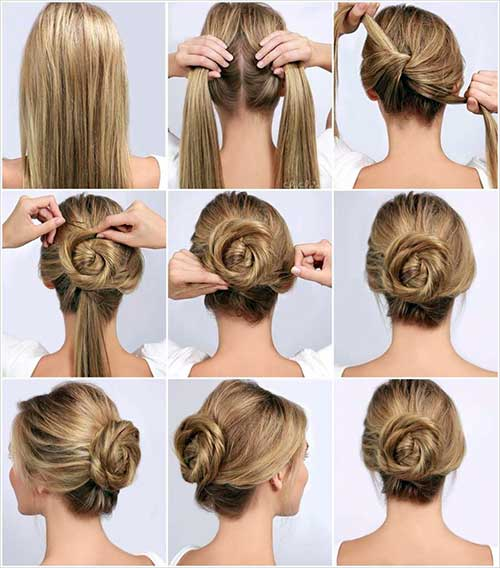 penteados diferentes para casamento tipo coque