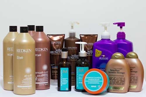 foto de produtos profissionais importados para cabelo