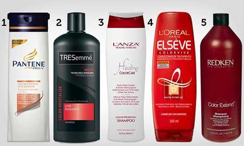 shampoo para cabelo escuro com mechas ombre hair