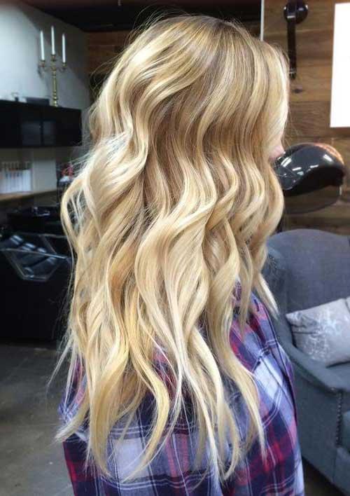 mechas balaiagem no cabelo loiro