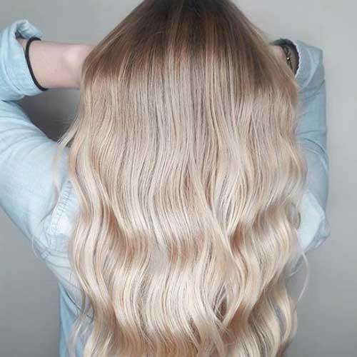 cabelo loiro champagne ou perolado