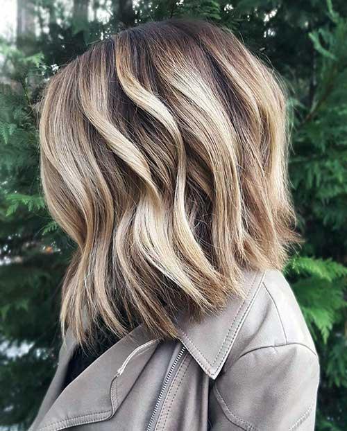cabelo com luzes tratado com shampoo certo