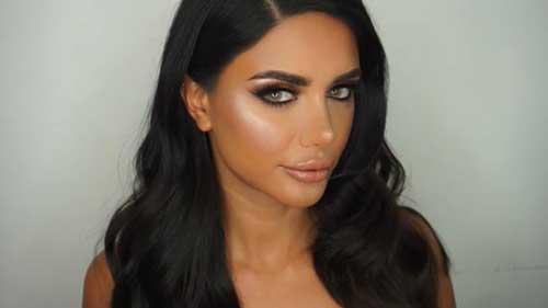 cor de cabelo preto ideal pra pele bronzeada