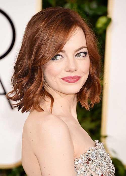 cor de cabelo ronze em famosas