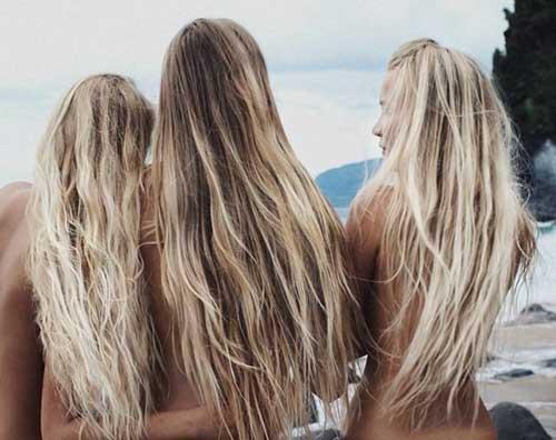 mechas californianas imitam o cabelo de surfistas