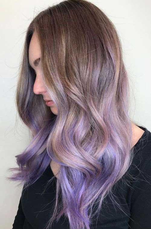 cabelo ombre hair lavanda