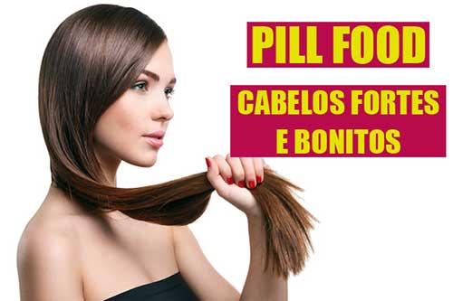 tudo sobre o pill food para conseguir cabelo maior e mais belo