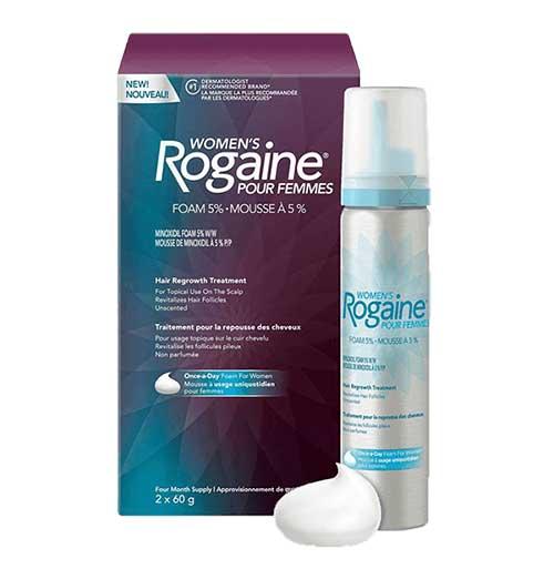como usar rogaine for women com pill food