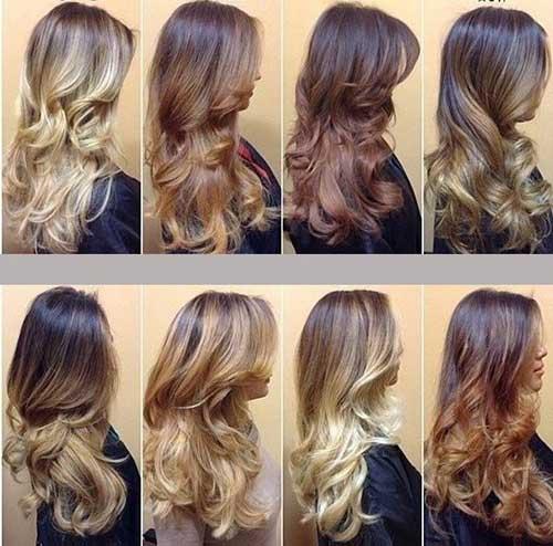 cores para fazer mechas californianas no cabelo