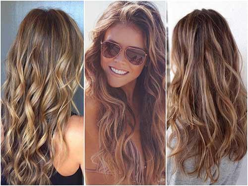 foto de cabelos de morenas com mechas bronde hair