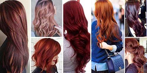 tipos diferentes de cabelos vermelhos bonitos