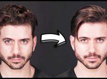 resultado de cabelo alisado com a tecnica japonesa para homens