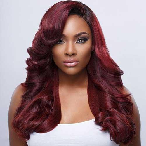 cabelo vermelho para mulheres negras