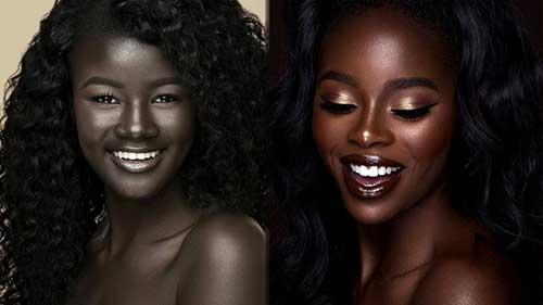 dicas sobre cores de cabelo para pele negra