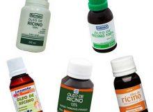 marcas variadas de oleos de ricino