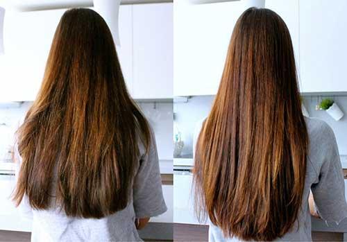 resultados de usar oleo de canola no cabelo liso