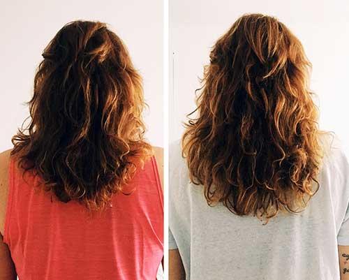 antes e depois de usar tonico de alecrim por 1 mes