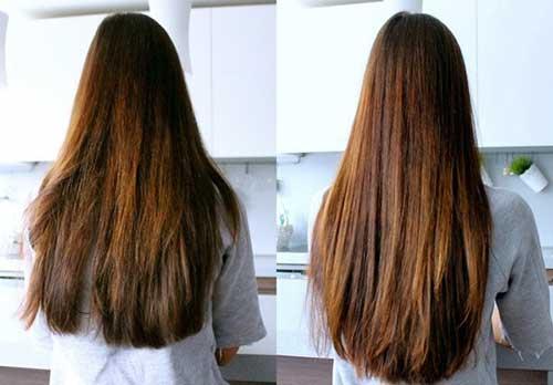 resultado de alecrim no cabelo por 2 meses