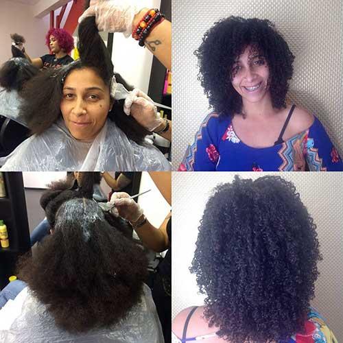 imagem de cabelo cacheado tratado na oasys hair