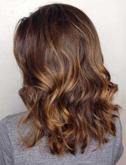 foto de cabelo mel e chocolate bonitos