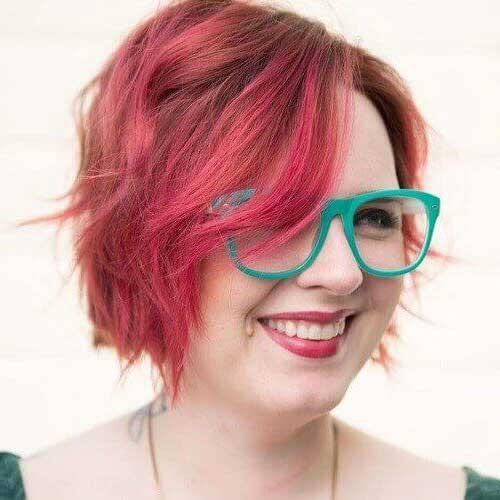 foto de cabelo para moça plus size cortado curto