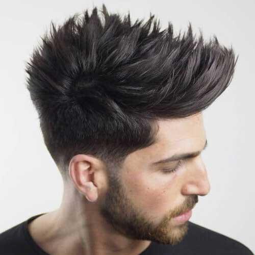 resultado de espetar o cabelo conforme as dicas da materia