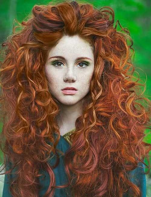 cabelo da princesa merida
