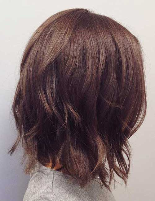 cabelo chocolate curto bonito
