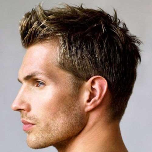 corte masculino espetado facil