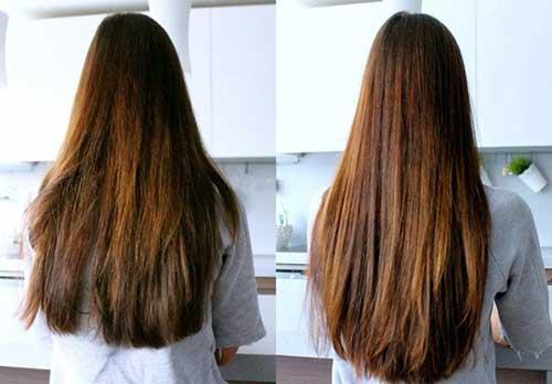 resultado de usar oleo de cenoura por 2 meses no cabelo