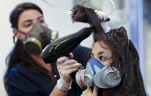 formol faz para os cabelos e pra saude